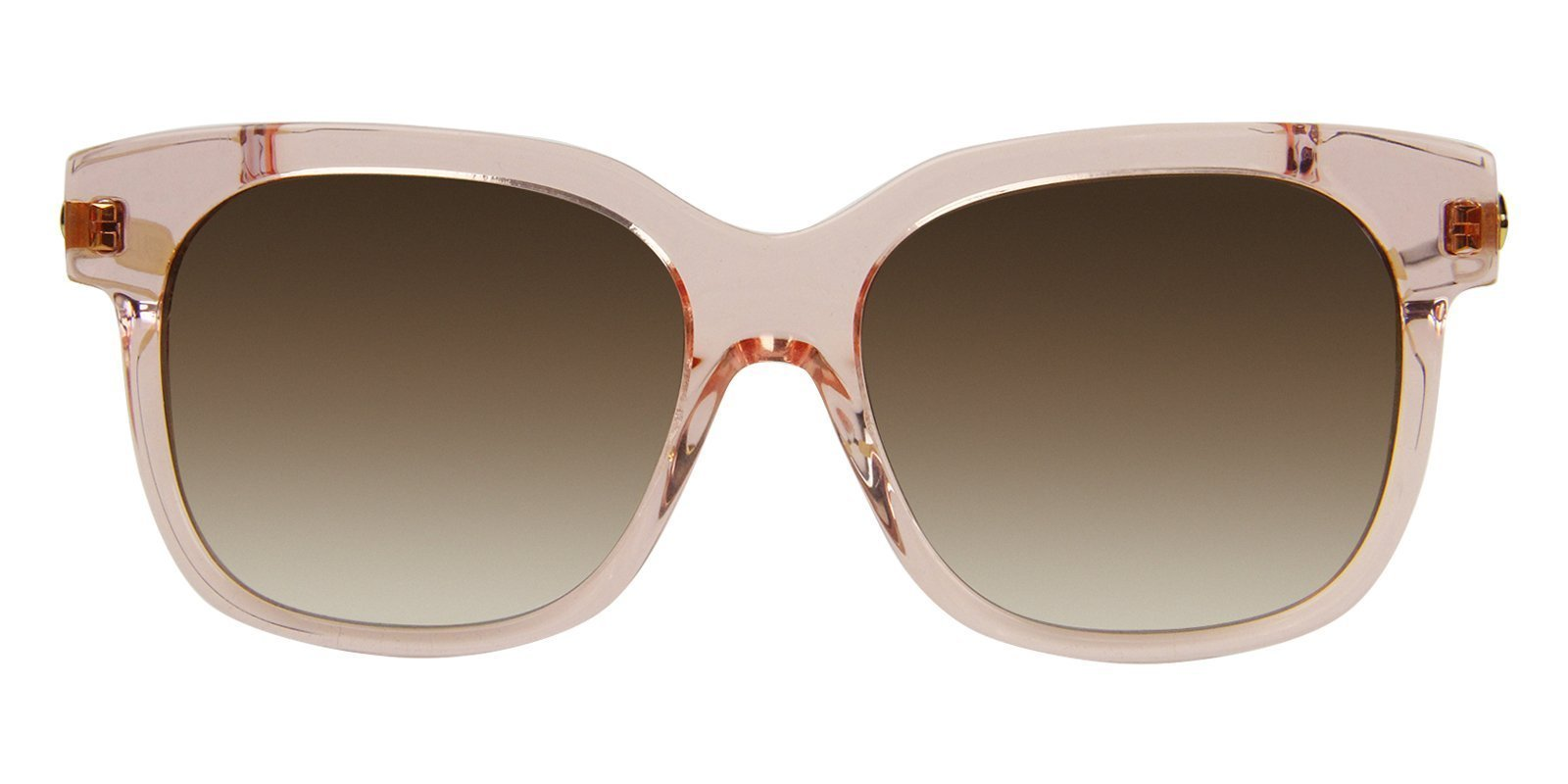 Thierry Lasry - Rapsody Pink Rectangular Women Sunglasses - 57mm-Sunglasses-Designer Eyes