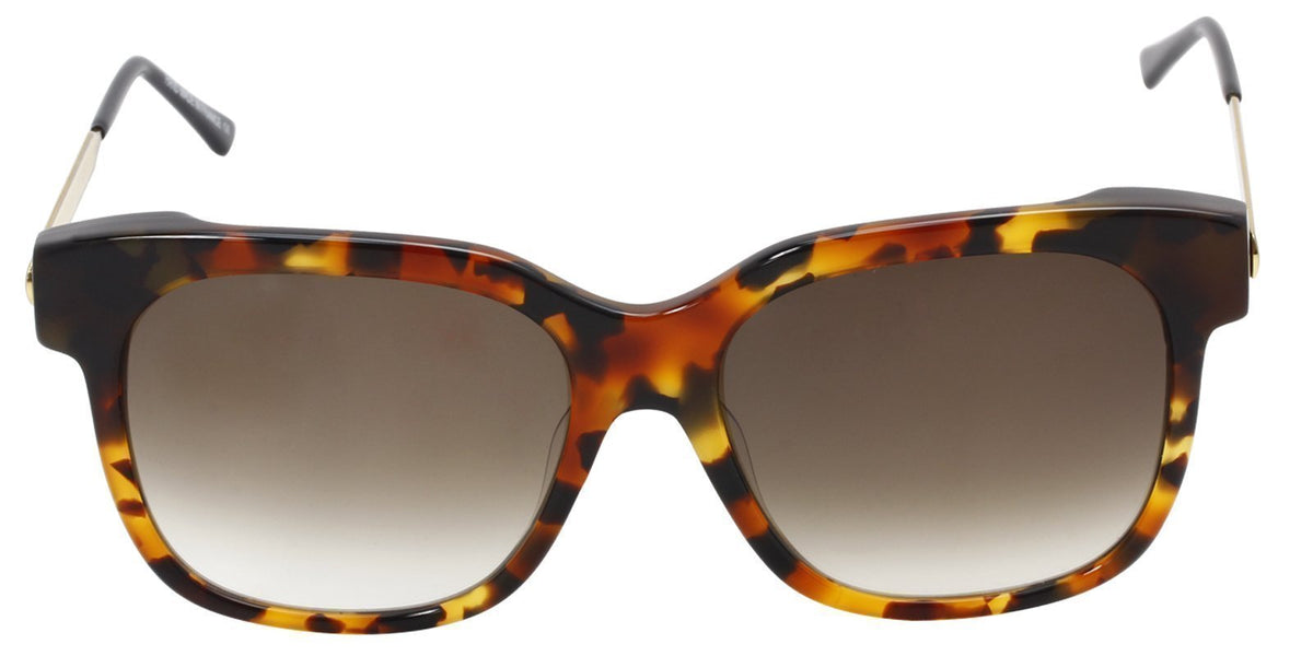 Thierry Lasry - Rapsody Tortoise Rectangular Women Sunglasses - 57mm-Sunglasses-Designer Eyes