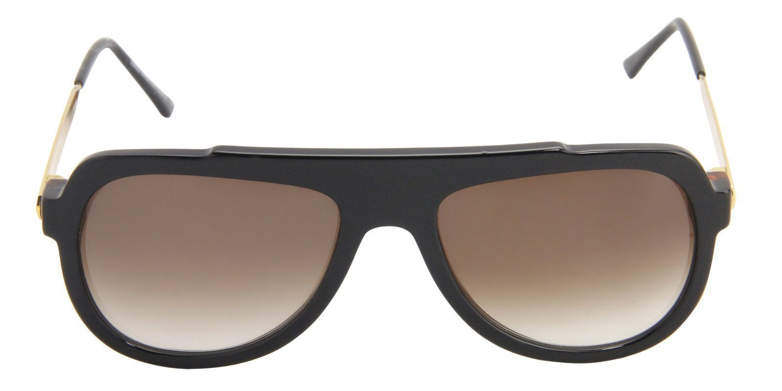 Thierry Lasry - Staminy Black Aviator Men, Women Sunglasses - 58mm-Sunglasses-Designer Eyes