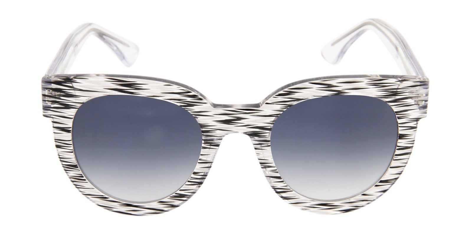 Thierry Lasry - Therapy White Oval Women Sunglasses - 50mm-Sunglasses-Designer Eyes