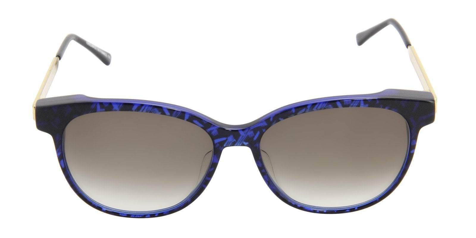 Thierry Lasry - Tipsy Blue Oval Women Sunglasses - 56mm-Sunglasses-Designer Eyes