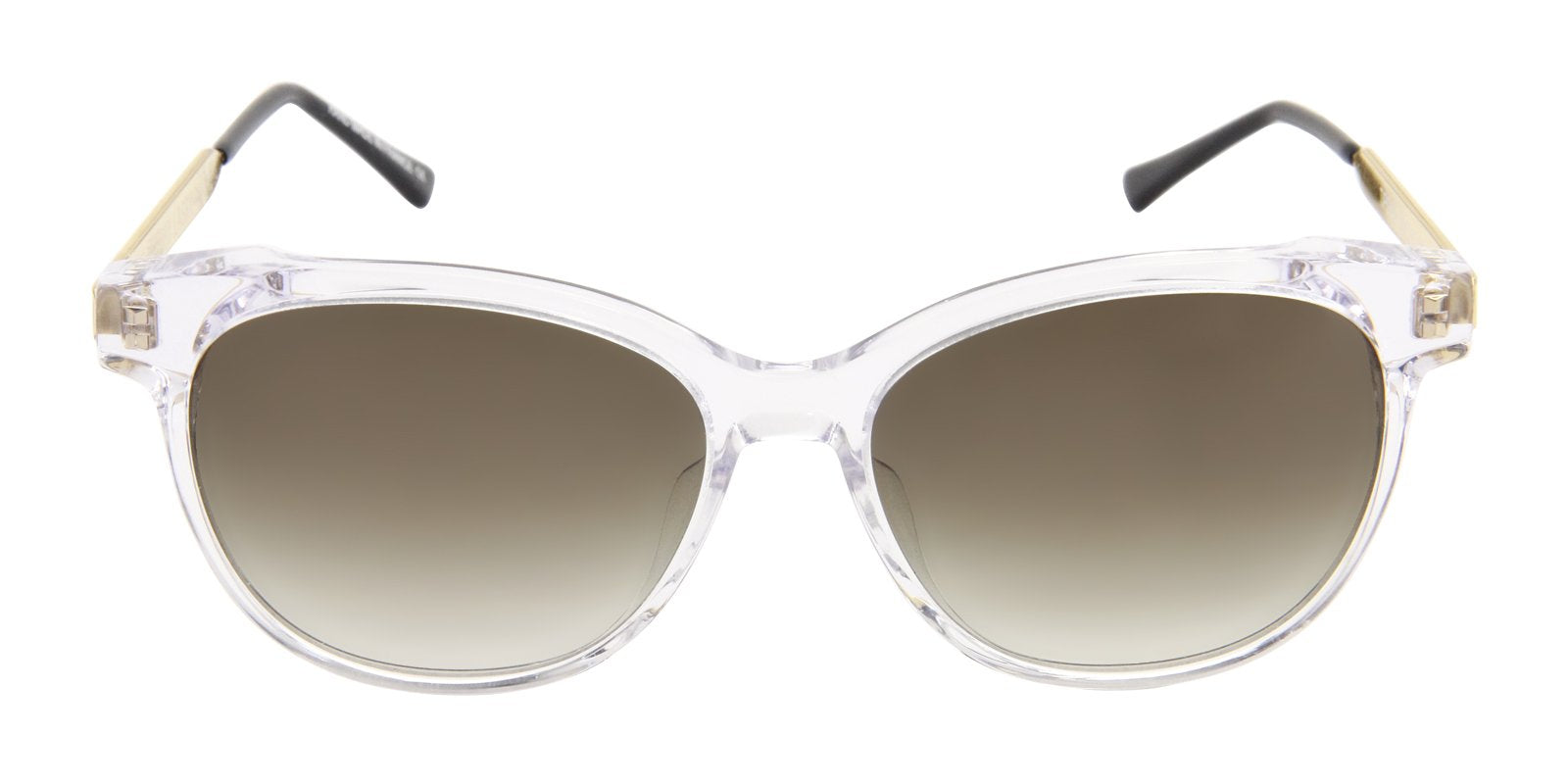 Thierry Lasry - Tipsy Clear Oval Women Sunglasses - 56mm-Sunglasses-Designer Eyes