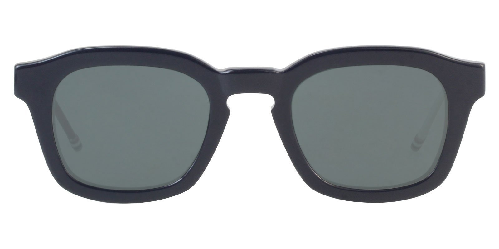 Thom Browne TB-412 LTD Blue / Gray Lens Mirror Eyeglasses-Eyeglasses-Designer Eyes