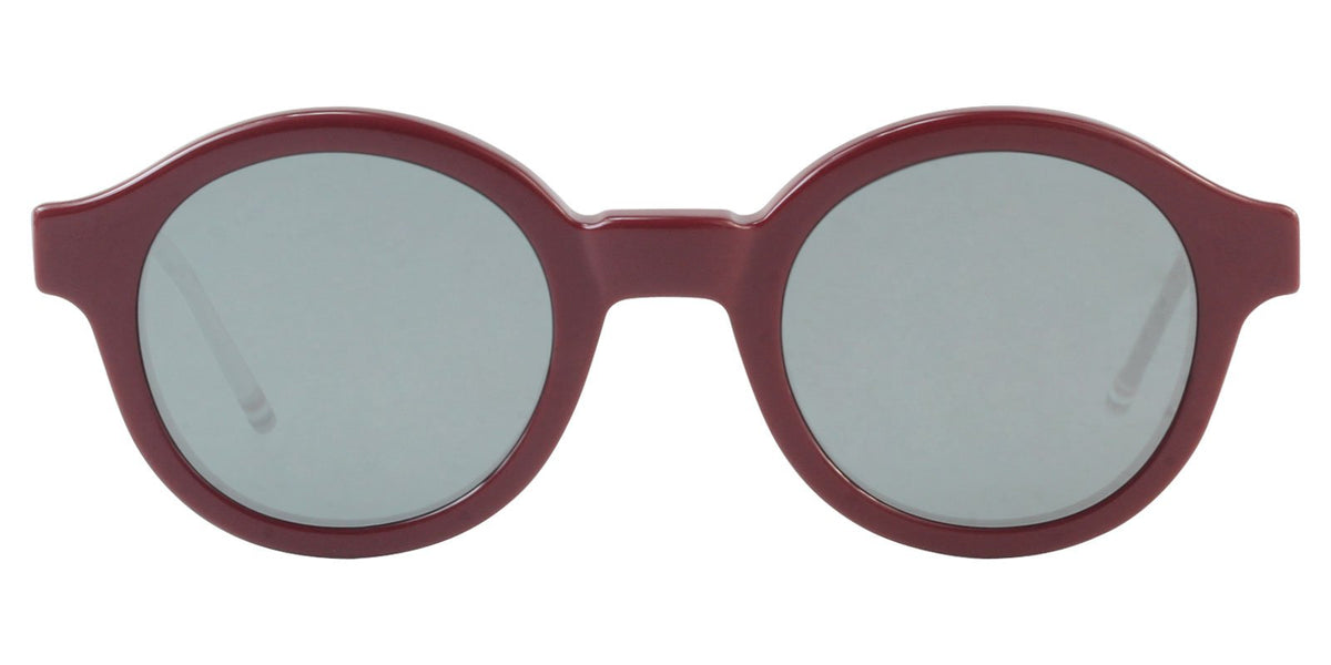 Thom Browne - TB-411 LTD Red Oval Unisex Sunglasses - 47mm-Sunglasses-Designer Eyes