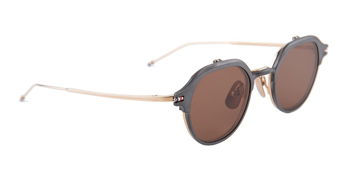 Thom Browne - TB-812 Gray - Brown-sunglasses-Designer Eyes