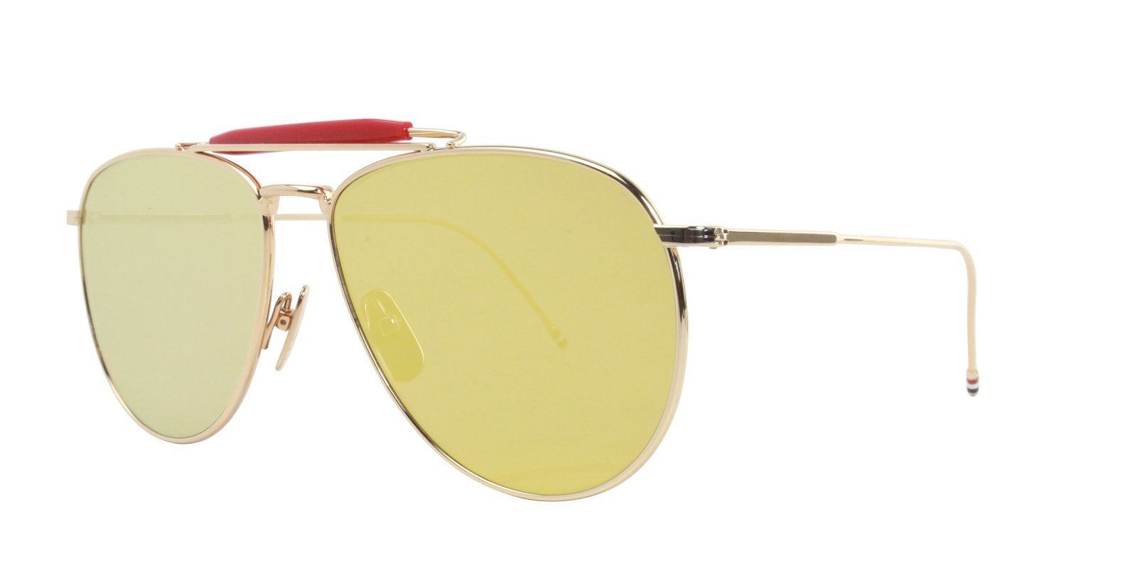 Thom Browne - TB015 Gold - Gold-sunglasses-Designer Eyes