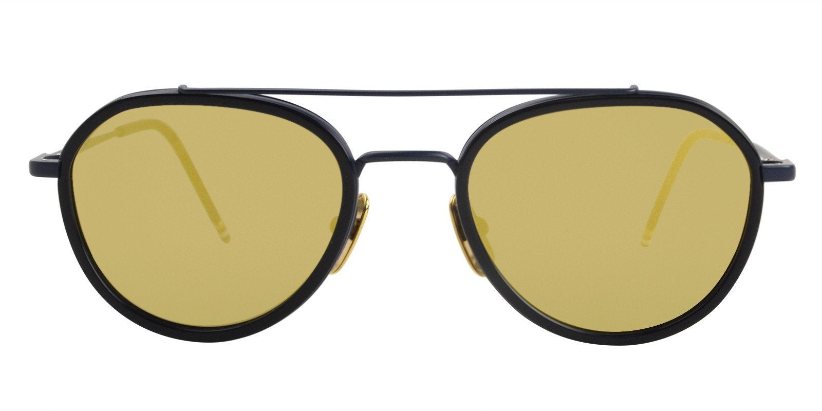 Thom Browne - TB801-E Blue - Yellow-sunglasses-Designer Eyes