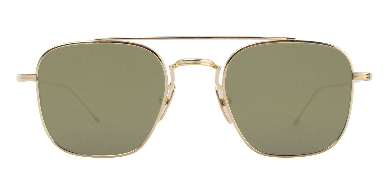 Thom Browne - TBS907-50-01 Gold - Green-sunglasses-Designer Eyes