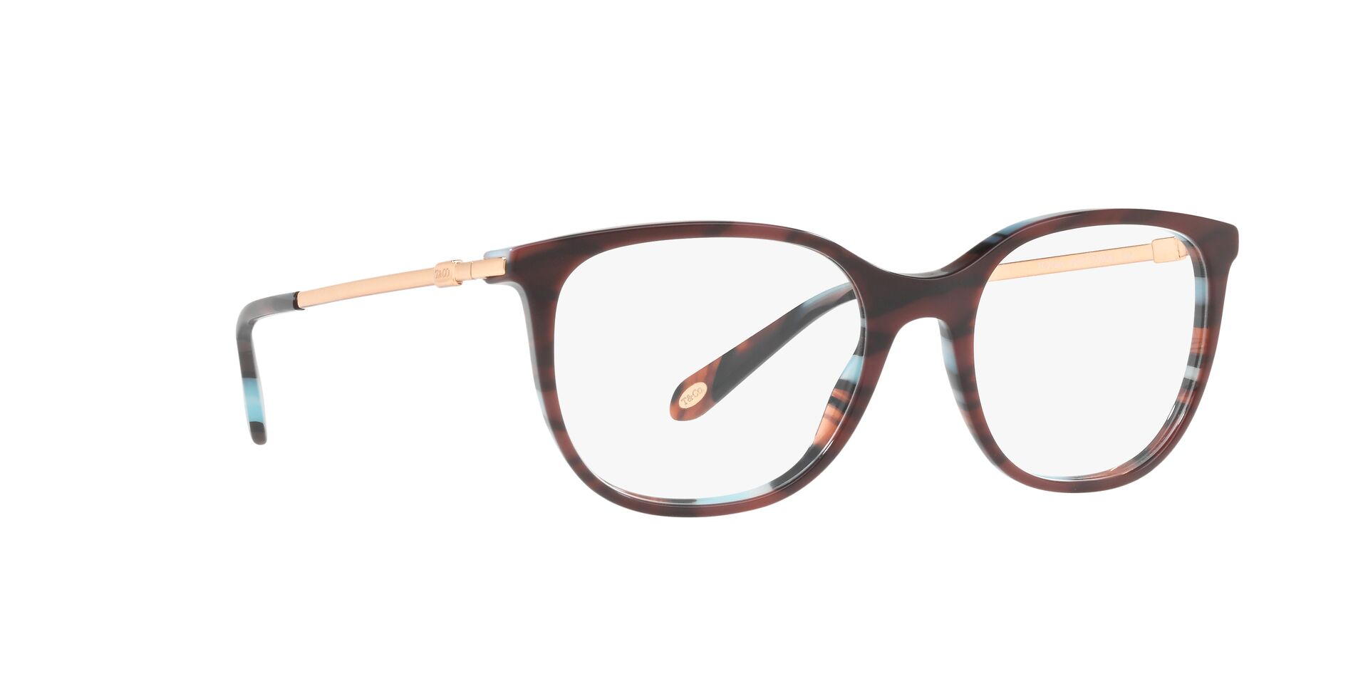 Tiffany TF2149 Brown / Clear Lens Eyeglasses-Eyeglasses-Designer Eyes