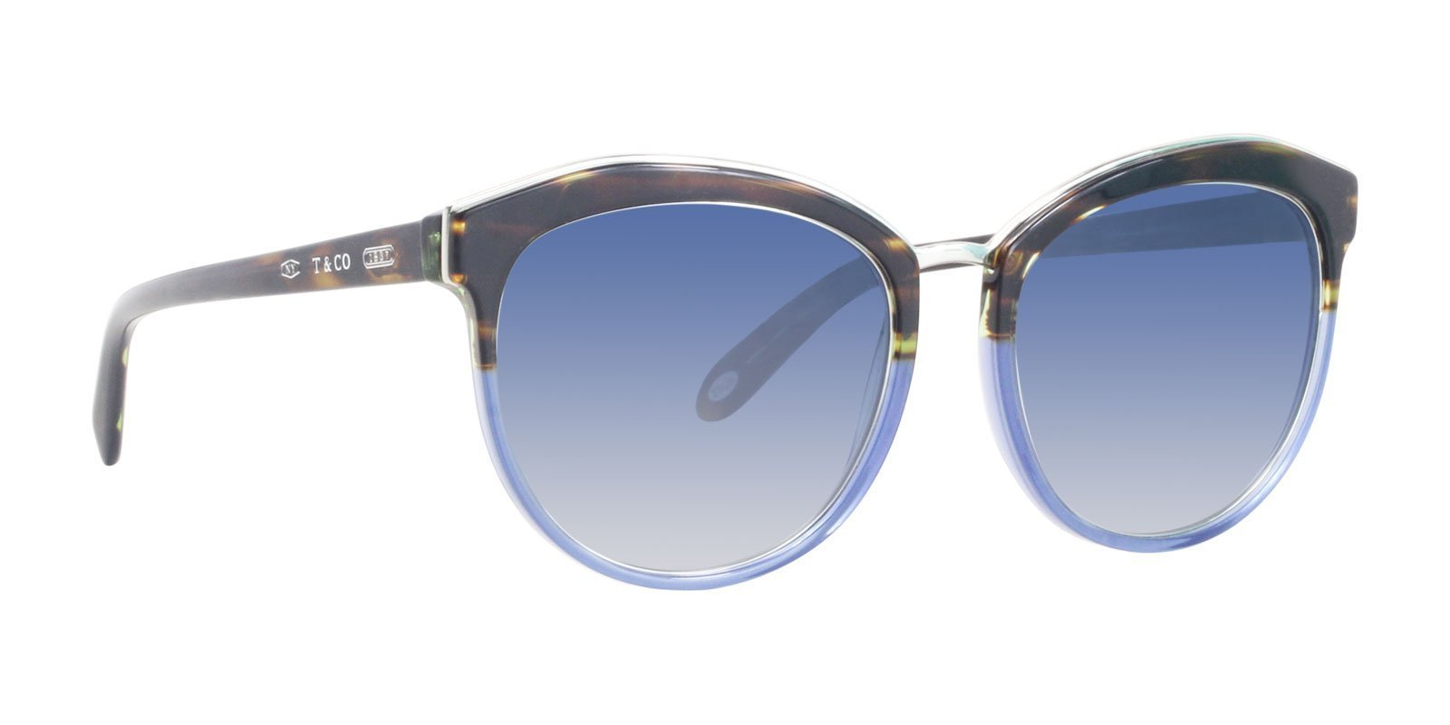 Tiffany TF4146 Tortoise / Blue Lens Sunglasses-Sunglasses-Designer Eyes
