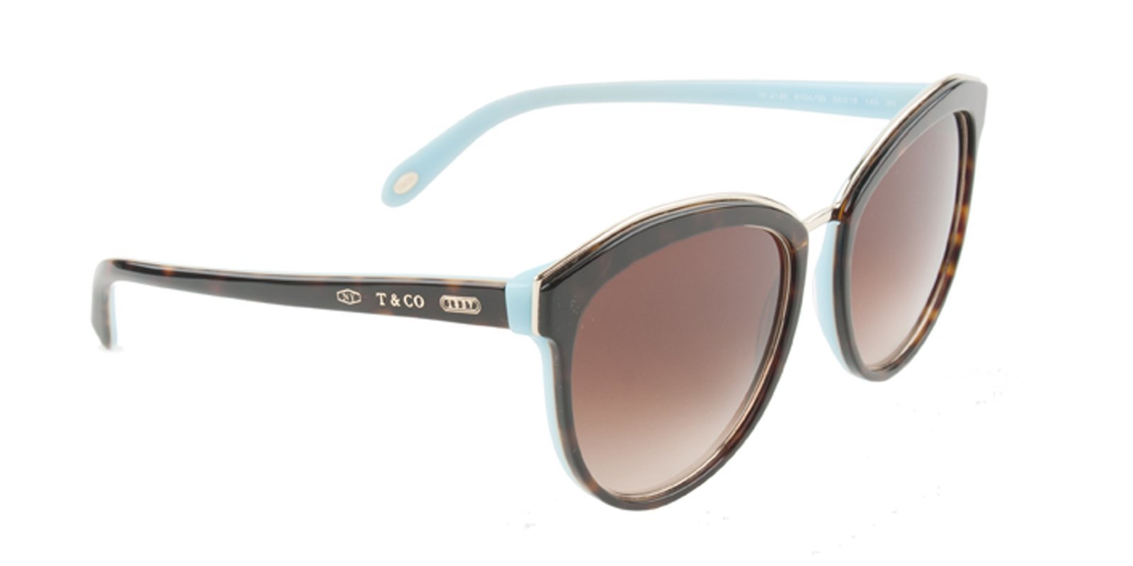 Tiffany TF4146 Tortoise / Brown Lens Sunglasses-Sunglasses-Designer Eyes