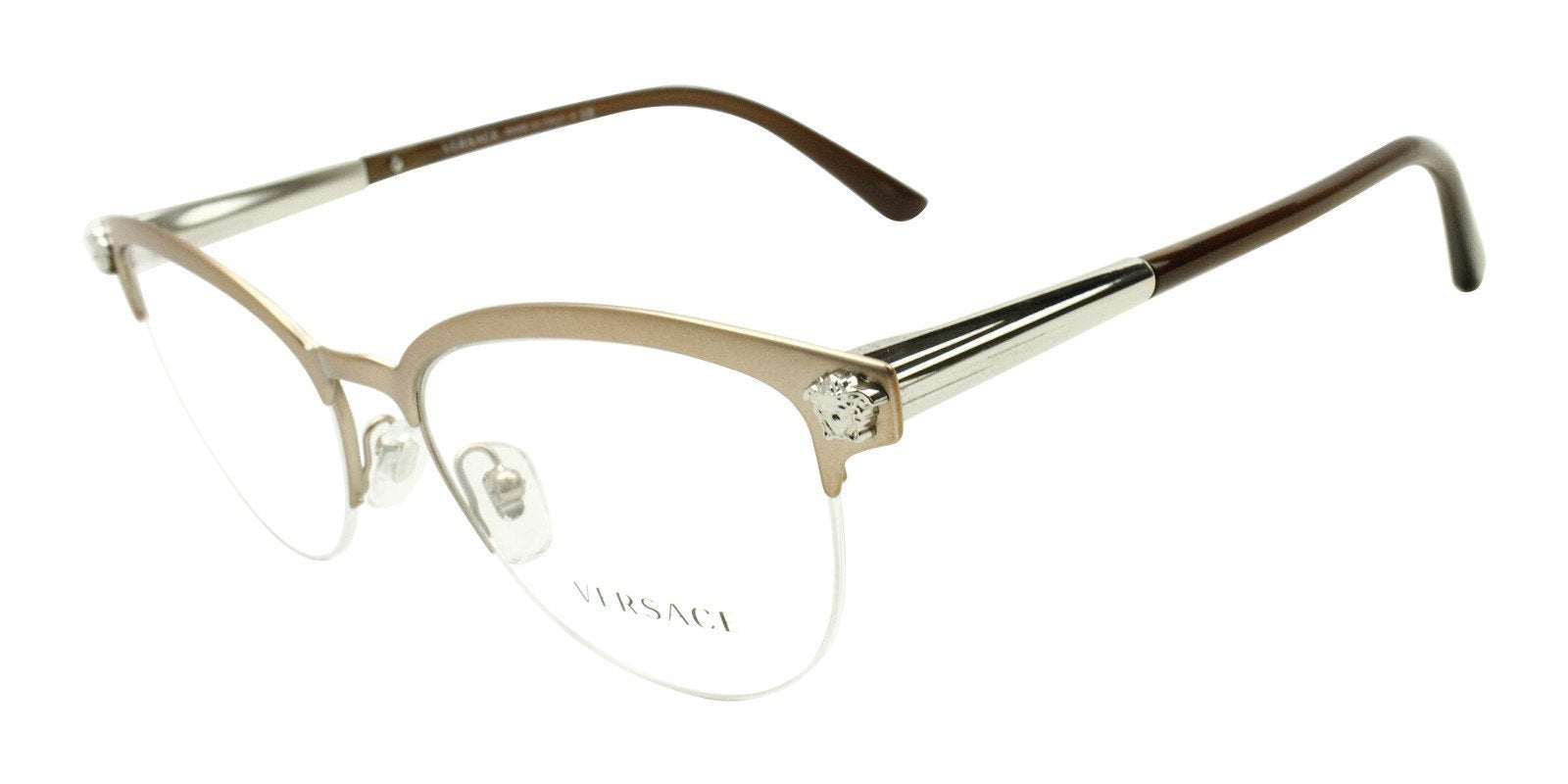 060c161de795 Versace - VE1235 Bronze eyeglasses– Designer Eyes