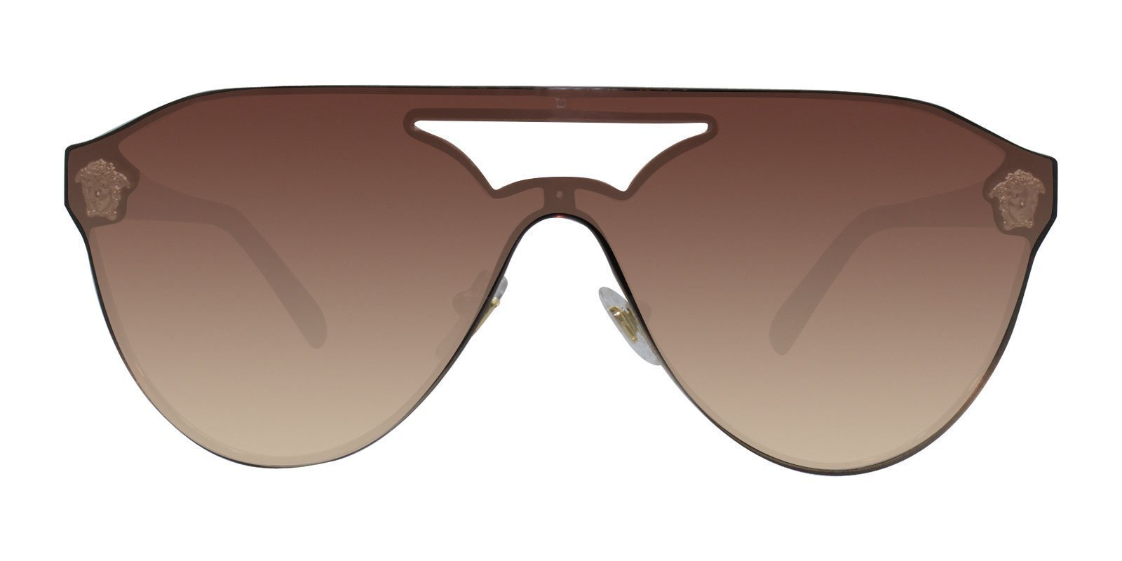 Versace - VE2161 Gold - Brown-sunglasses-Designer Eyes