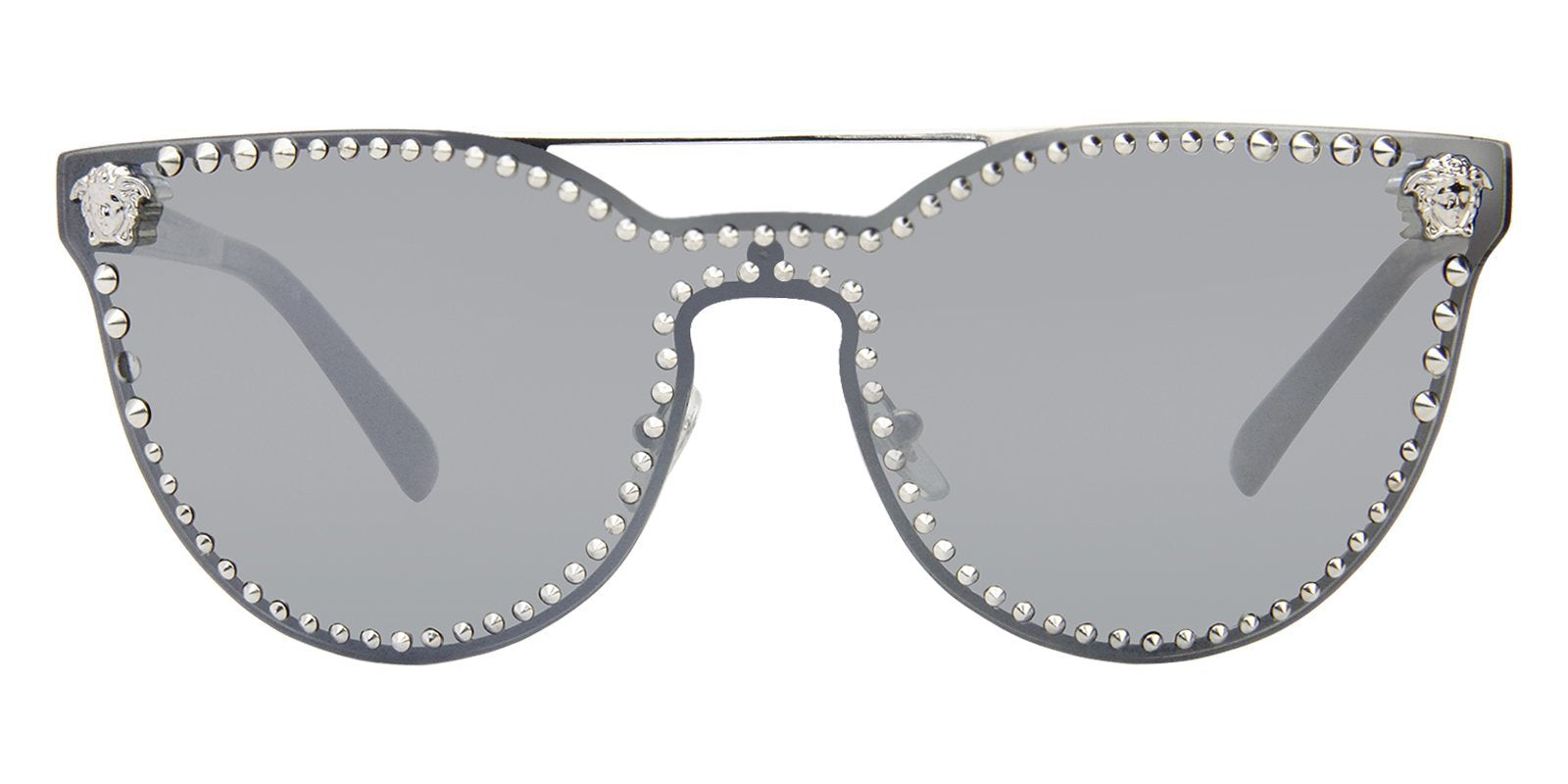 07690884e2 Versace - VE2177 Silver - Gray sunglasses– Designer Eyes