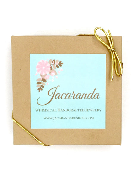 Solitaire Silver Crystal Birthstone Necklace - Jacaranda