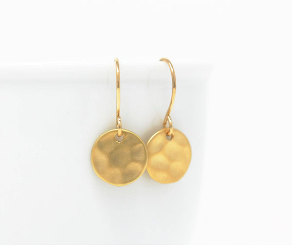 Small Gold Earrings - Jacaranda