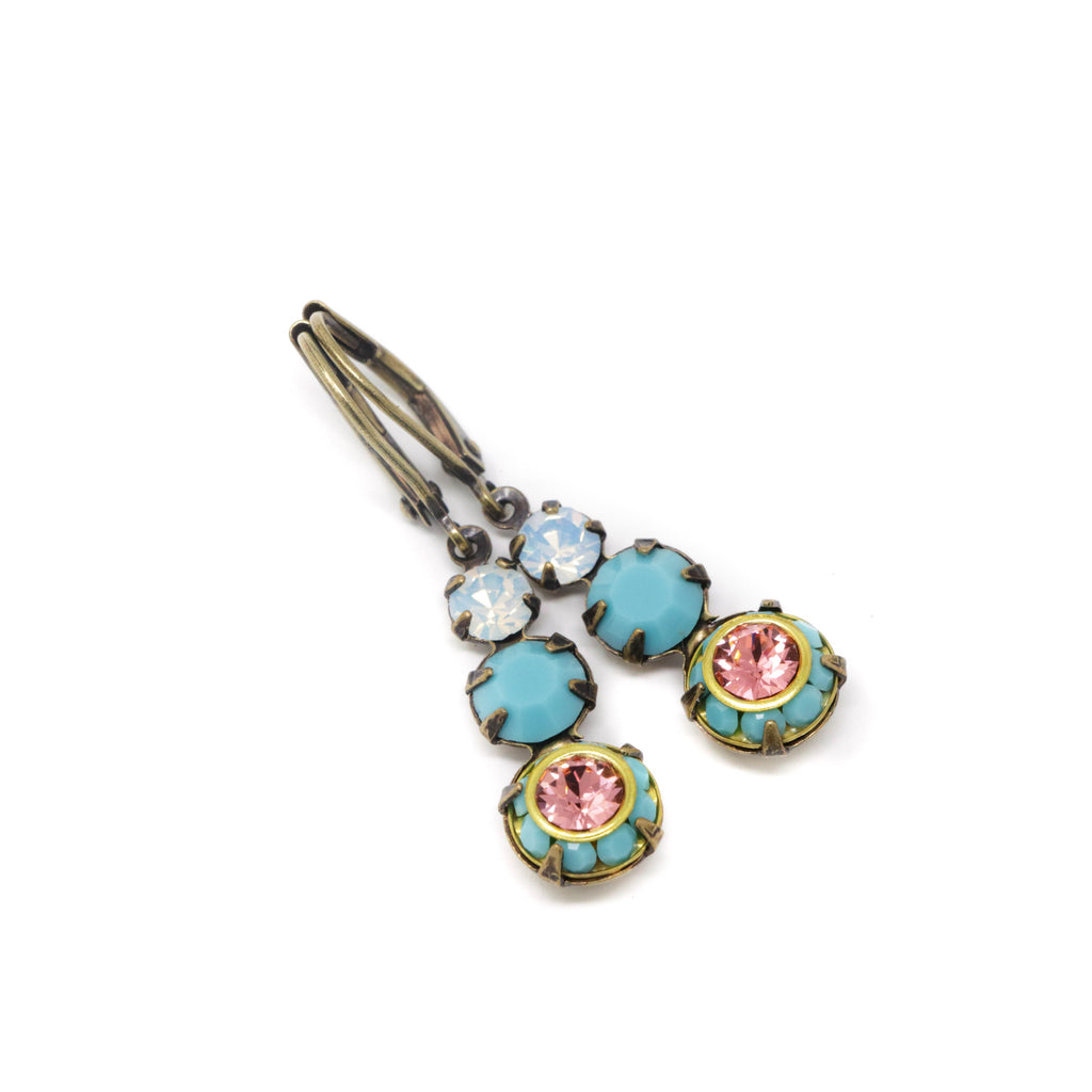 Vintage Turquoise Earrings - Jacaranda