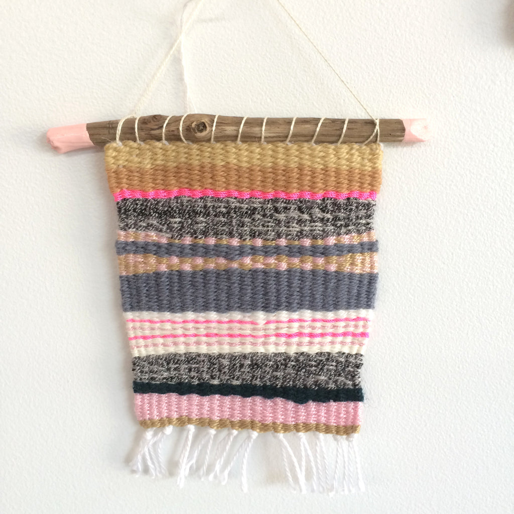 Gold and Pink Weaving