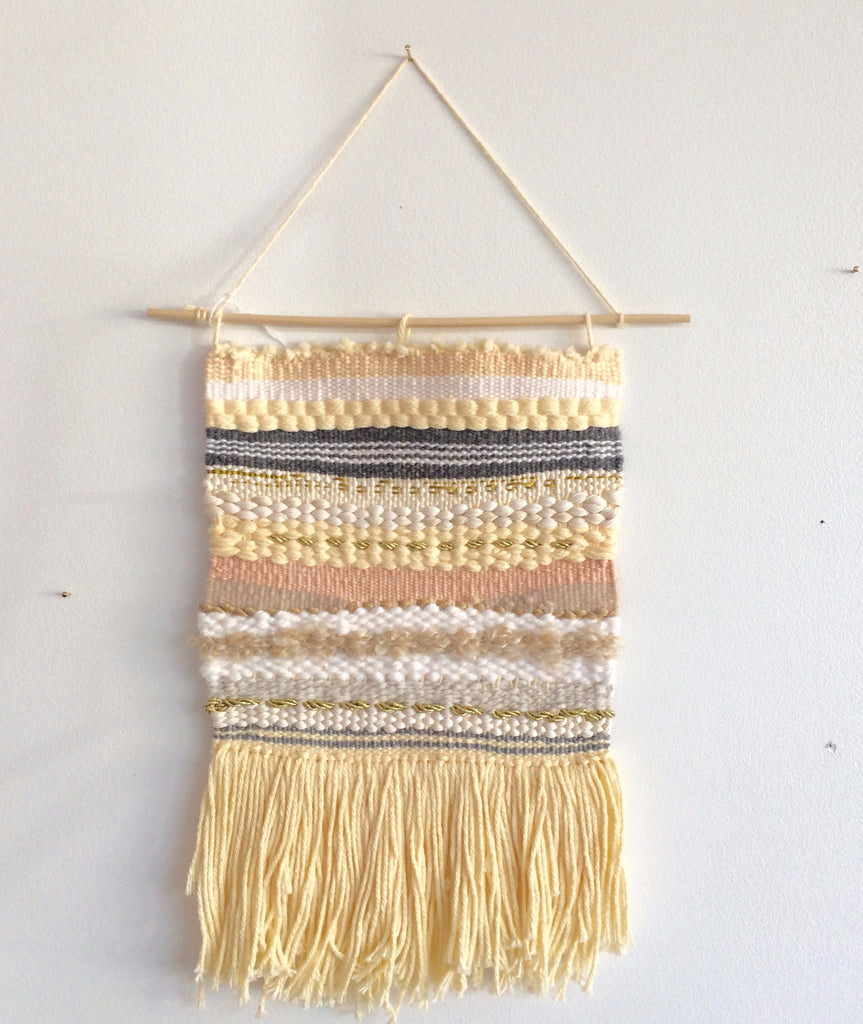 Cream Stripe Weaving