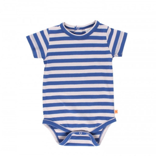 Striped Onesie - Short Sleeve
