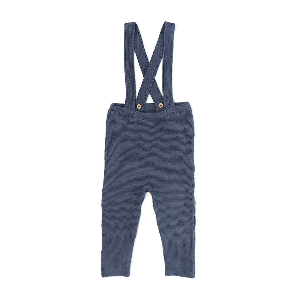 Knit Suspender Pants