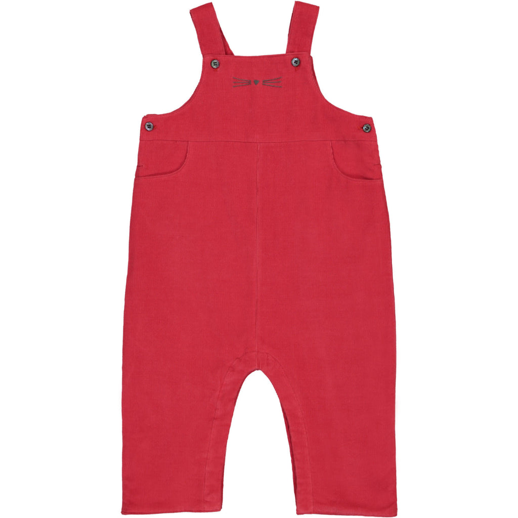 Louison Baby Overall - Paprika Red
