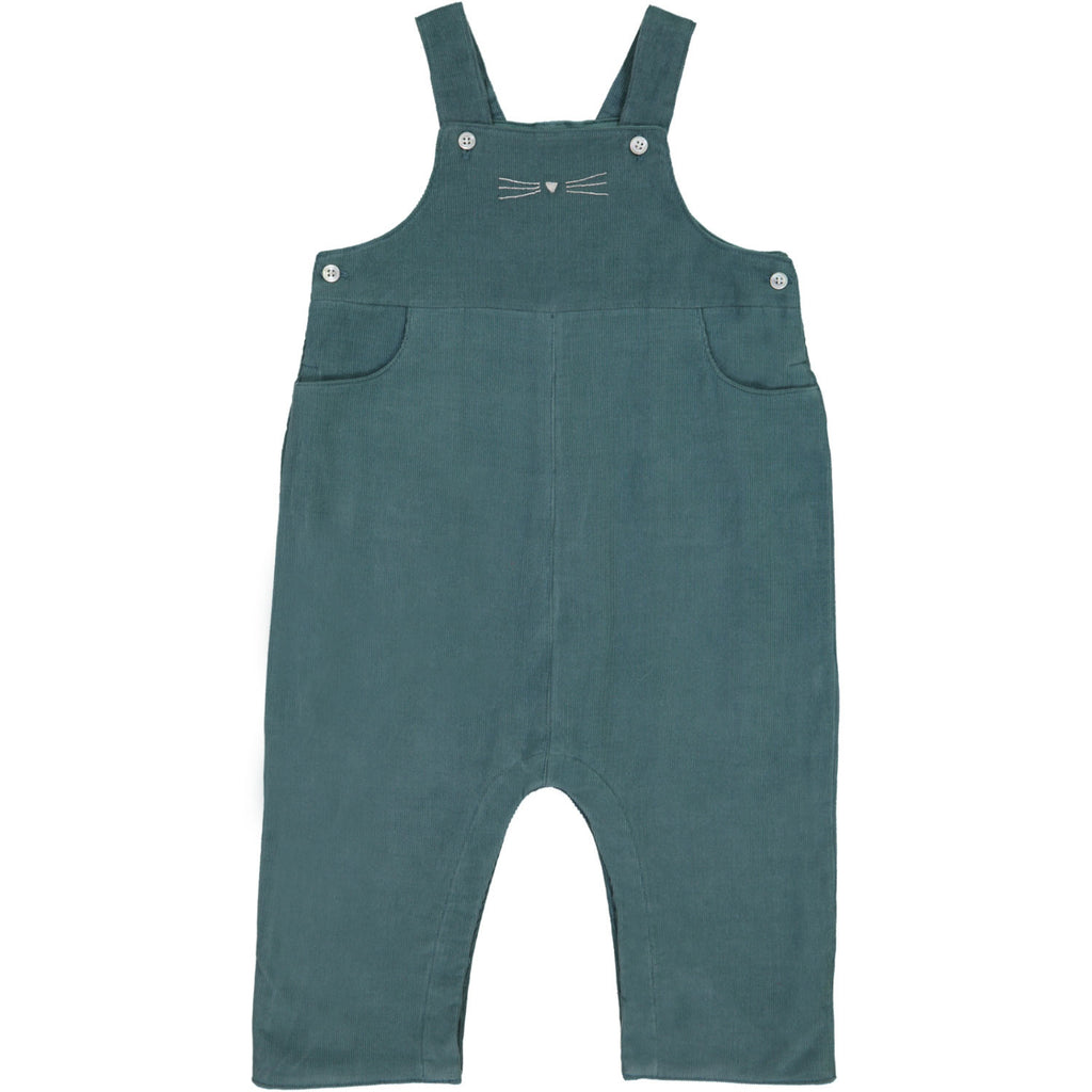 Louison Baby Overall - Pine Blue