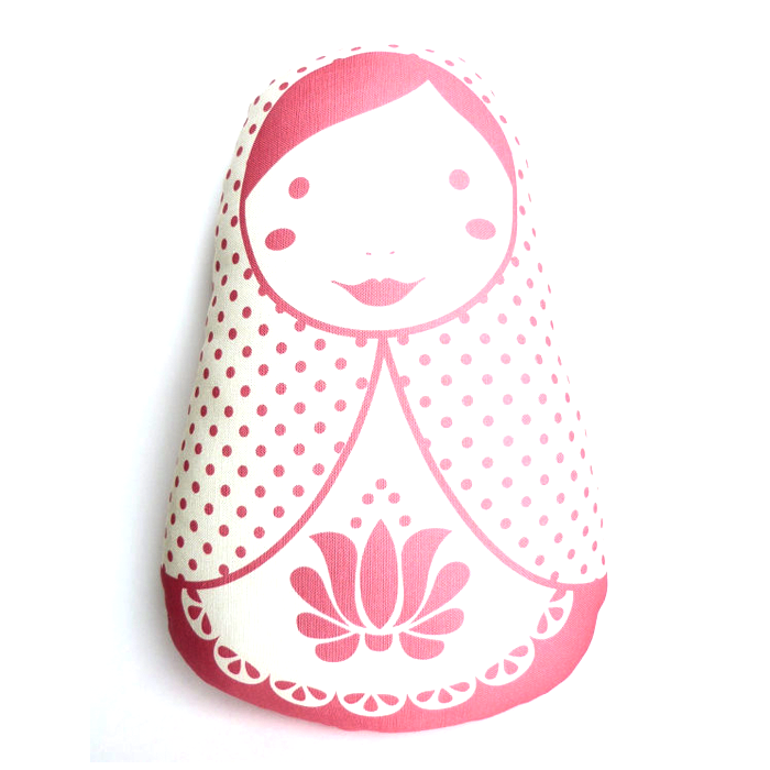 Stacking Doll Pillow