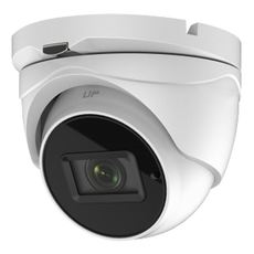 Telecamera Dome Safire - 5 Mpx High Performance CMOS - Uscita 4 in 1 - Lente Motorizzata 2.7~13.5 mm Autofocus - IR Matrix portata 40 m - Impermeabile IP67
