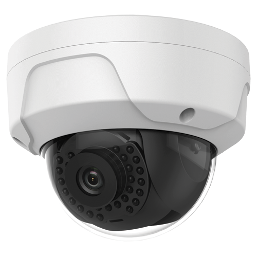 "Camera IP Safire 4 Megapixel - 1/3"" Progressive Scan CMOS - Compressione H.265+, H.265, H.264+, H.264, MJPEG - Lente 2.8 mm - LED IR Distanza 30 m - WEB, Software CMS, Smartphone e NVR"