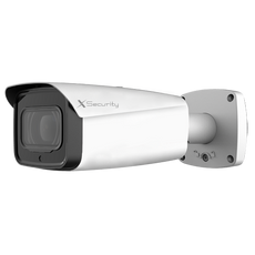 "Telecamera Dome X-Security 1080p - HDTVI, HDCVI, AHD e CVBS - 1/2.8"" CMOS Starlight / 0.004Lux Color - Lente fissa 3.6 mm - IR LEDs Array distanza 30 m - WDR 120dB 