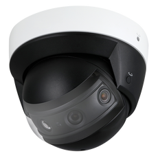 "Telecamera X-Security IP panoramica 180º - 4 lenti x 1/2.8"" 2Mpx Starvis CMOS (7Mpx) - Compressione H.265+/H.265/H.264+/H.264 - RJ-45 10/100 BaseT - PoE IEEE802.3af - LED IR Distanza 30 m - Protezione IP67 / IK10"
