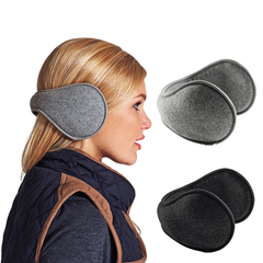 Unisex Fleece Ear Muff Wrap Band - Assorted Colors - BoardwalkBuy - 1