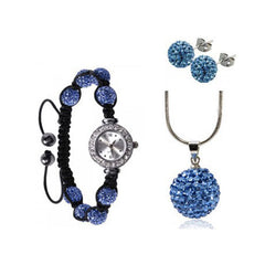 Eternal Elegance Jewelry & Watch Set - Assorted Colors