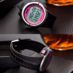 Skmei 1058 LED Sports Watch With 3D Pedometer and Heart Rate Monitor - BoardwalkBuy - 7