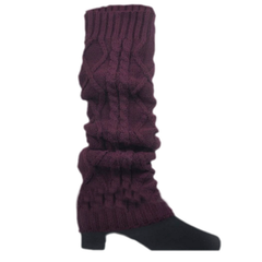 Women's Knitted Crochet Leg Warmers and Boot Covers - Assorted Colors - BoardwalkBuy - 5