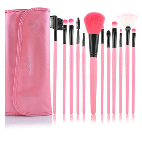 12 Piece Pink Glory Brush Set