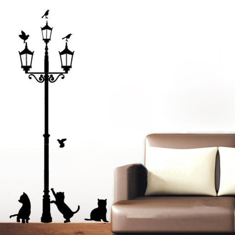 3 Little Cats DIY Wall Sticker