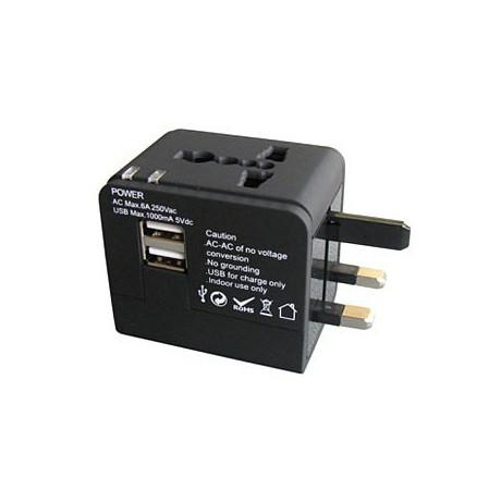 2.1A Universal Conversion Plug Socket Travel Abroad Universal Charger