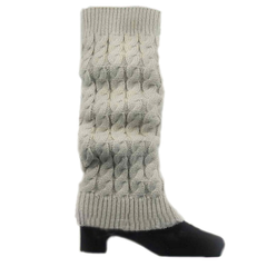 Women's Knitted Crochet Leg Warmers and Boot Covers - Assorted Colors - BoardwalkBuy - 2