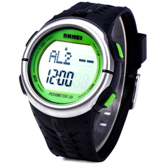 Skmei 1058 LED Sports Watch With 3D Pedometer and Heart Rate Monitor - BoardwalkBuy - 12