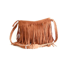Fringed Cross-Body Bag