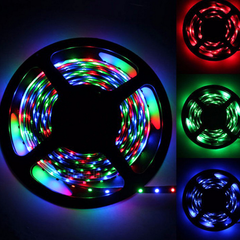 16 Feet 300 LED Waterproof RGB Light Strip With IR Remote Control - BoardwalkBuy - 8