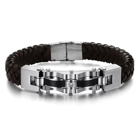Armageddon Wing Men's Stainless Steel Bracelet