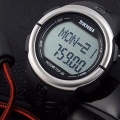 Skmei 1058 LED Sports Watch With 3D Pedometer and Heart Rate Monitor - BoardwalkBuy - 10