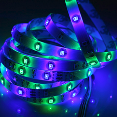 16 Feet 300 LED Waterproof RGB Light Strip With IR Remote Control - BoardwalkBuy - 3