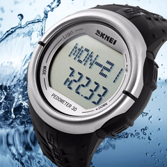 Skmei 1058 LED Sports Watch With 3D Pedometer and Heart Rate Monitor - BoardwalkBuy - 5