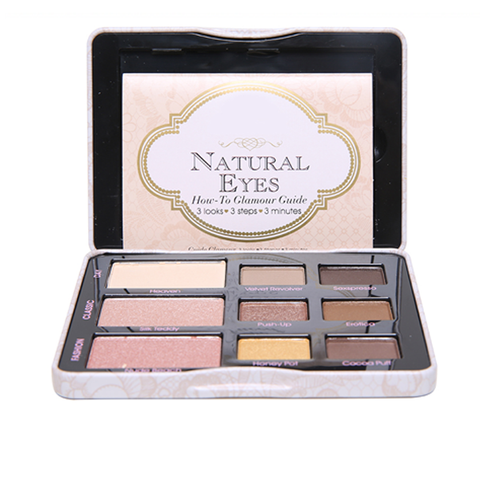 9 Color All-Natural Eye Shadow