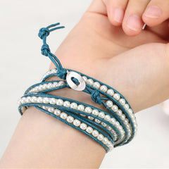 Blue Sea Wrap Bracelet