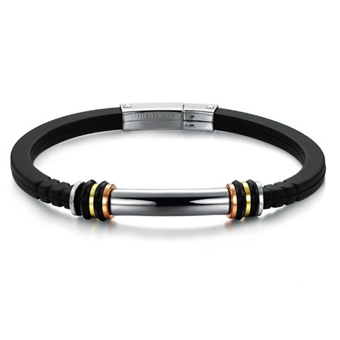 Classic Men's Stainless Steel Bracelet